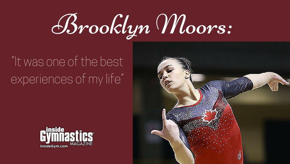 """Brooklyn Moors: """"It was one of the best experiences of my life"""""""