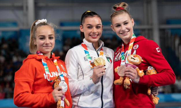 Emma Spence earns Canada's first Youth Olympic medal